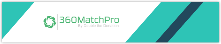 360MatchPro software is an easy way to boost your online fundraising.