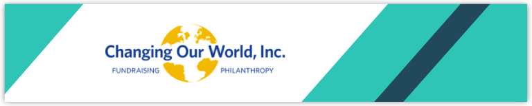 Changing Our World consulting specializes in connecting nonprofits and businesses.