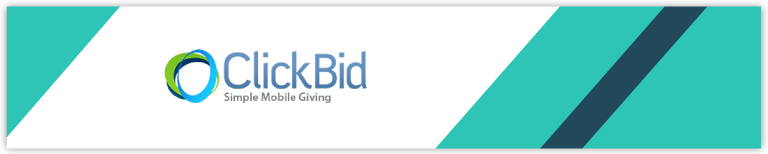 ClickBid offers effective mobile auction software for your online fundraising.