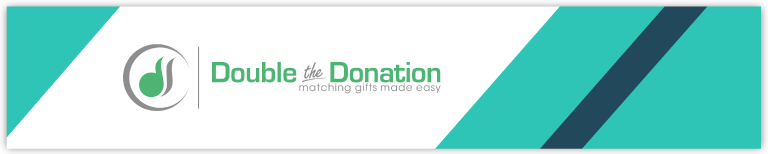 Double the Donation fundraising software can boost your donation revenue through matching gifts.