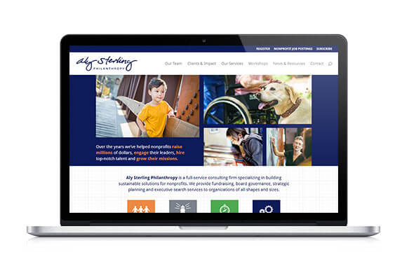 Check out Aly Sterling Philanthropy's website for more details on their nonprofit consulting services!