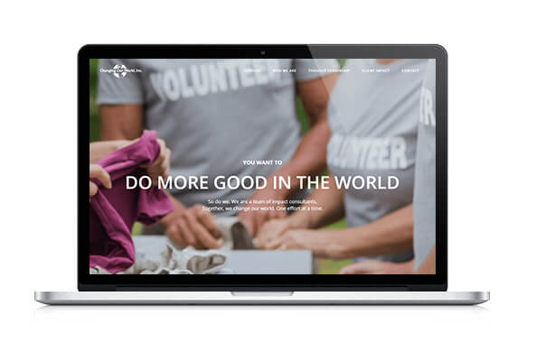 Check out Changing Our World's website for more information on their nonprofit consulting services!