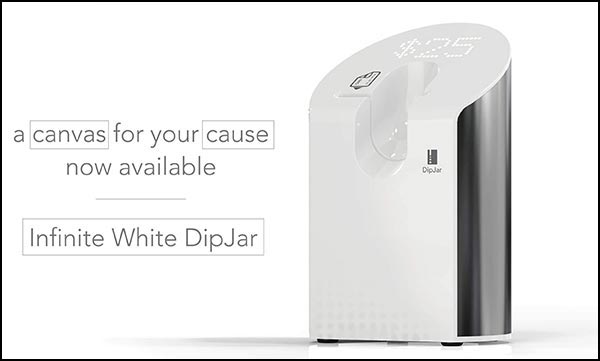 DipJar fundraising software and hardware will catch your donors' attention!