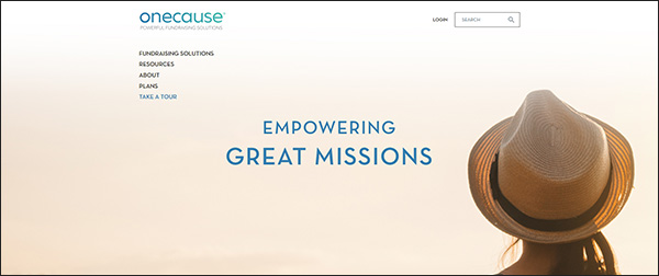 Check out OneCause's event management and auction tools for your next online donation tool!