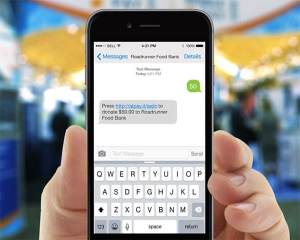 Snowball text to give tools are a perfect way to collect donations quickly.