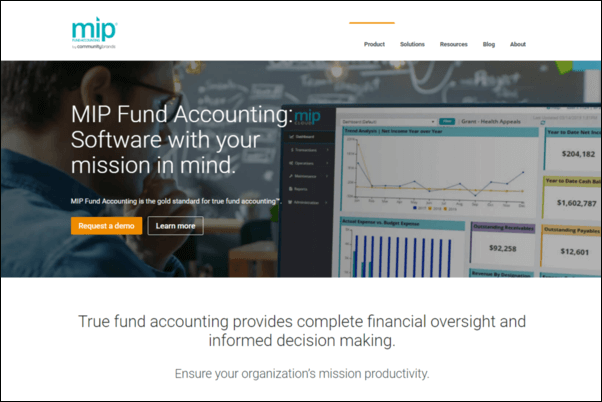 Check out MIP Fund Accounting's top fundraising software.
