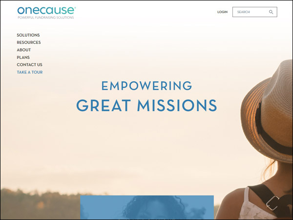 OneCause offers a range of effective nonprofit fundraising software solutions.