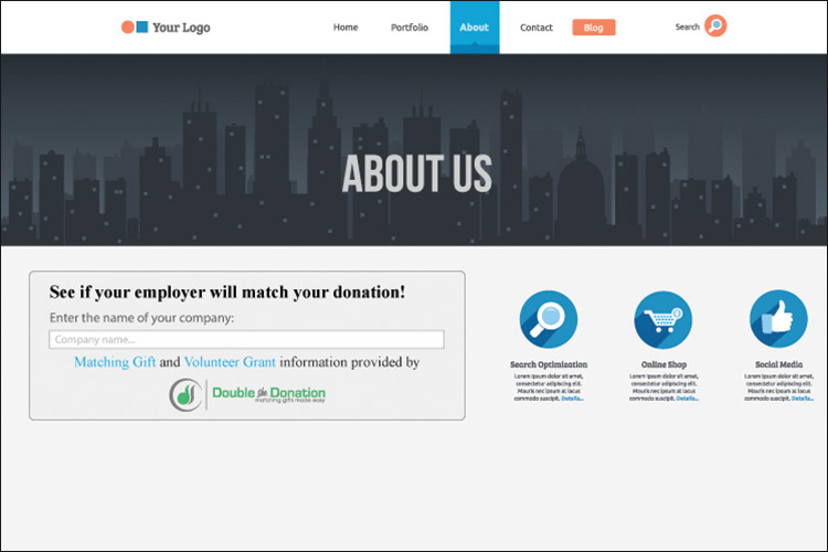 Double the Donation's plugin can make your peer-to-peer fundraising campaign twice as effective.