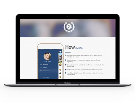 ZOI is a great free fraternity management solution.
