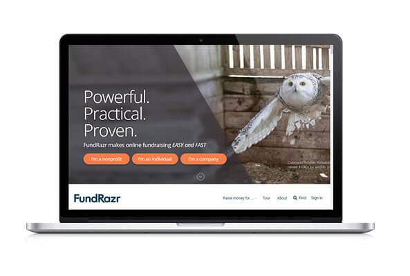 Check out FundRazr's crowdfunding platform!