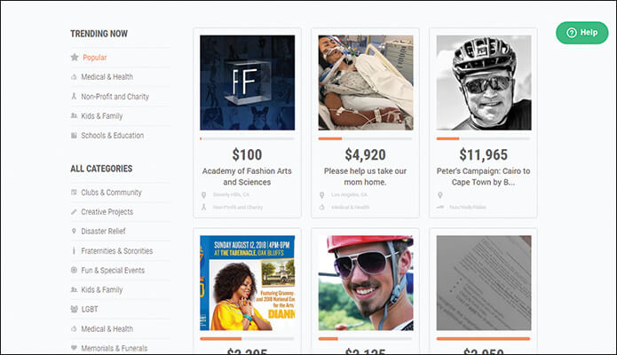 Using Fundly's crowdfunding platform is a fantastic online fundraising idea.