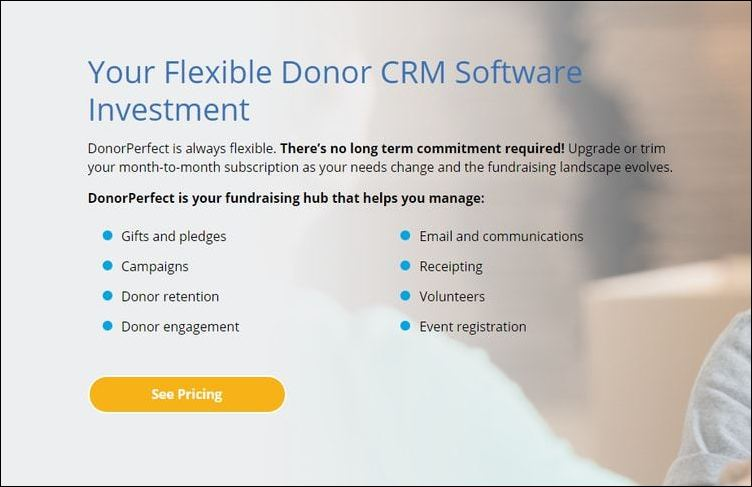 DonorPerfect is a generally strong choice for top association management software solutions.