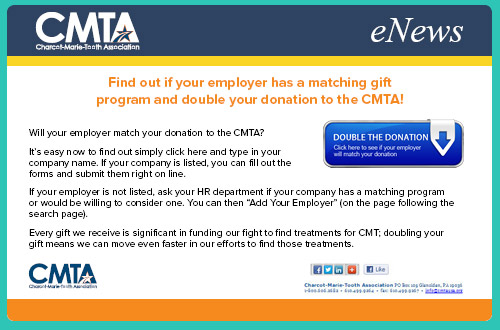 Here's an example matching gift newsletter.