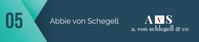 Abbie von Sclegell of A. von Schlegell and Co. is one of the top capital campaign consultants.