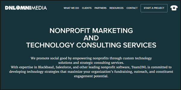Improve your nonprofit's technology strategy with Carl Diesing as your capital campaign consultant.