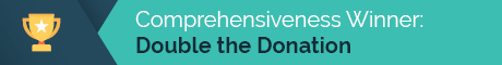 Double the Donation is the most comprehensive matching gift database.