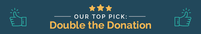 Our top pick for matching gift database is Double the Donation.