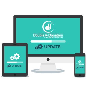 Double the Donation is the most updated, and therefore, most accurate matching gift database.