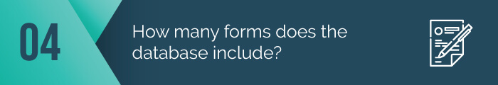 It's important that a matching gift database provide a donor with the forms they need, not just whether or not their employer has a program.