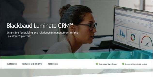 Luminate CRM is an extremely popular Salesforce plugin for heavy-duty relationship management.