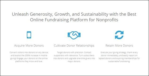 Salsa's digital fundraising features make it one of the most useful Salesforce plugins for nonprofits.
