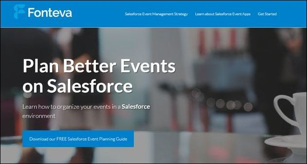 Fonteva Events is a powerful Salesforce app for nonprofits and associations alike.