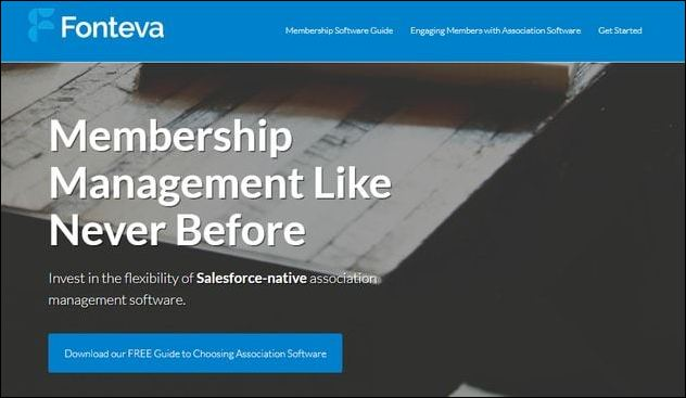 Fonteva Membership is a top Salesforce app because it offers a fully native solution.