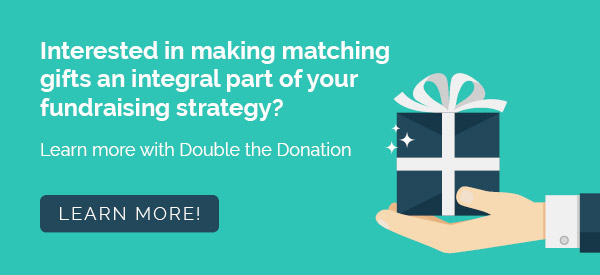 Learn more about the top matching gift companies and matching gifts in general with Double the Donation.