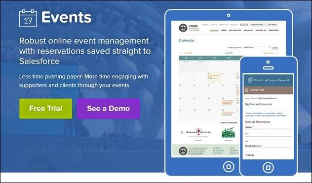 Explore Soapbox Engage's top Salesforce app for nonprofits that need easy event management tools.