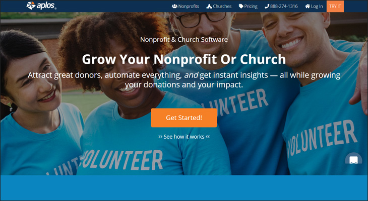 Check out Aplos for your next nonprofit fund accounting software solution.