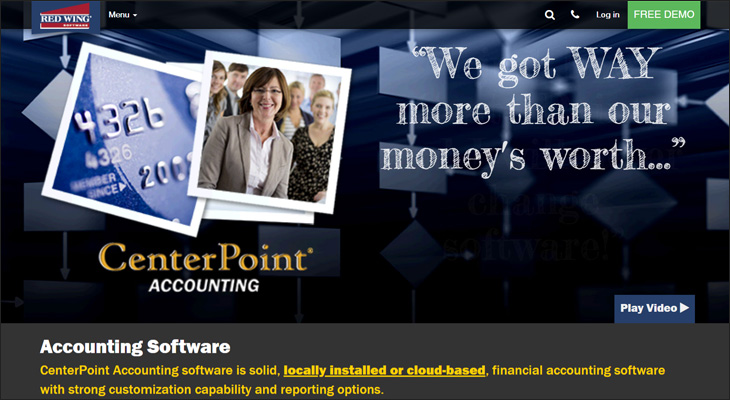 Check out Centerpoint for your next nonprofit fund accounting software solution.