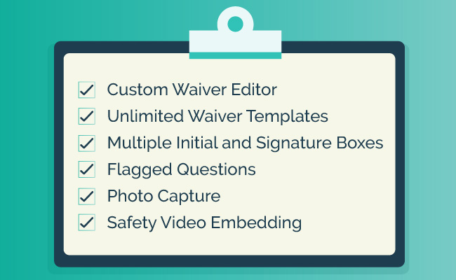 Make sure your online waiver software includes the essential features.