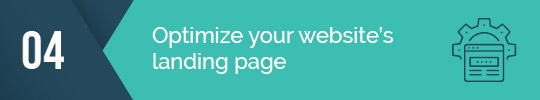 Optimize your landing page for your email fundraising campaign!