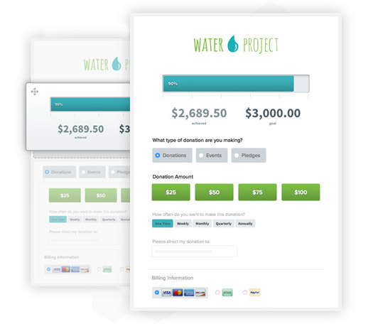 Check out these landing pages for your email fundraising!