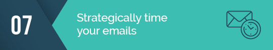 Timing is everything when it comes to email fundraising!