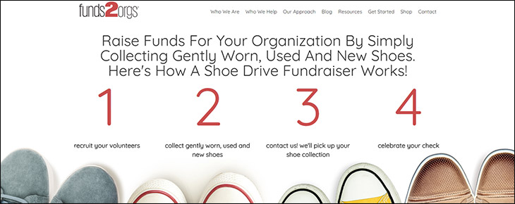 Visit Funds2Orgs website for more information about the donation platform.