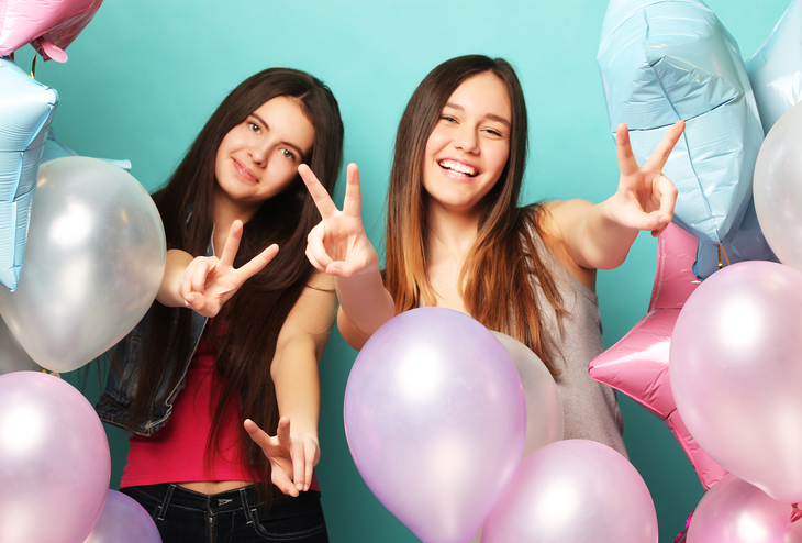 A balloon pop party is a great school fundraising idea for middle school-aged kids.