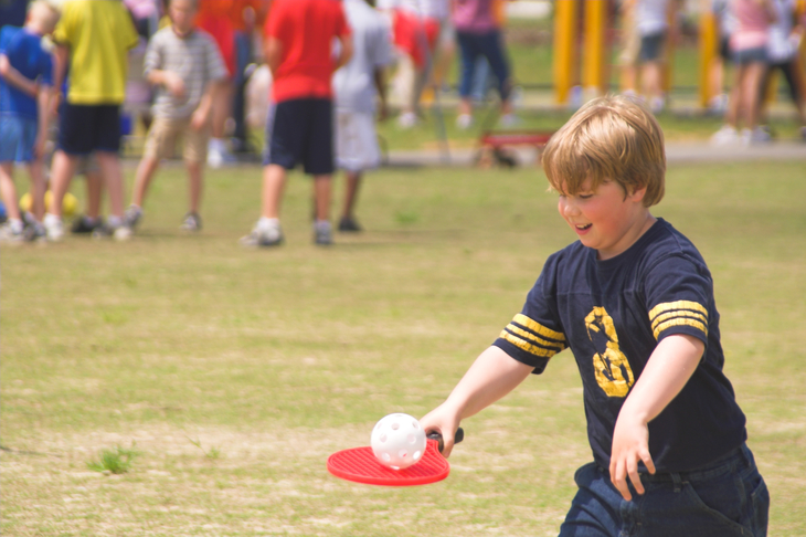 A field day is a great school fundraising idea for elementary-aged kids.
