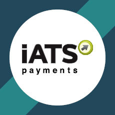 iATS is a top provider for donation processing.