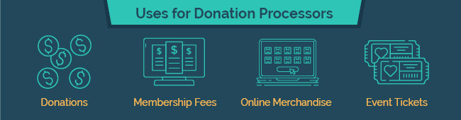 Donation processing has many uses for nonprofits.