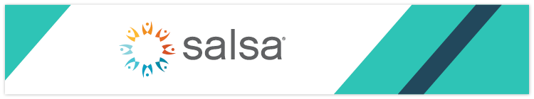 Learn more about this donation software, Salsa.