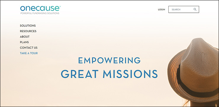Check out OneCauses' powerful virtual fundraising tool.