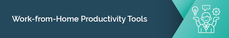 Check out these productivity tools for nonprofits working from home.