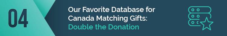 This is our favorite database for Canada matching gifts.