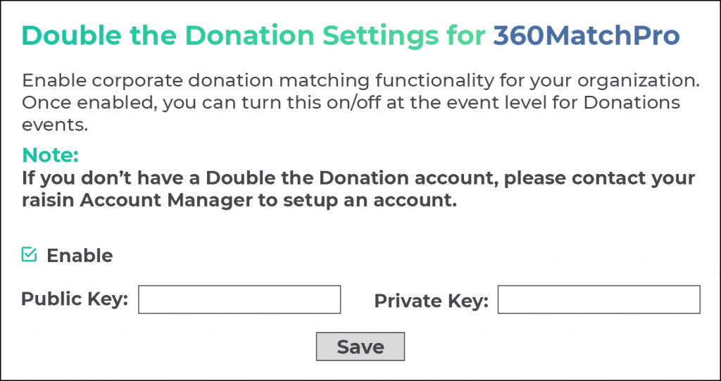 Secure more Canada matching gifts by integrating 360MatchPro with the fundraising platforms you already use.