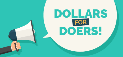 Here are effective ways to market Dollars for Doers programs.