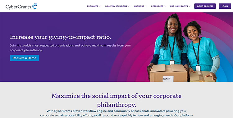 Learn more about CyberGrants, one of the best corporate giving software solutions.