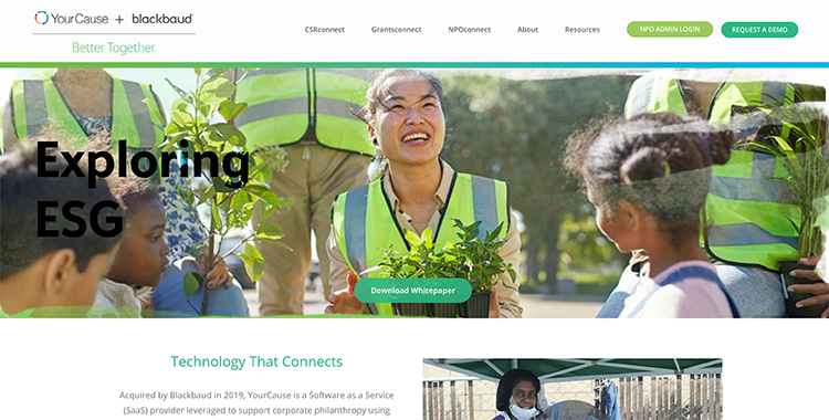 Learn more about YourCause, one of the best corporate giving software solutions.