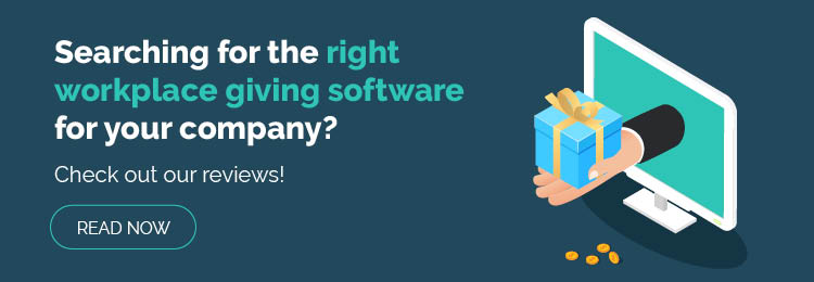 Reap the benefits of workplace giving with these software solutions!