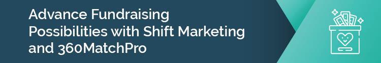Shift Marketing and 360Match Pro header image